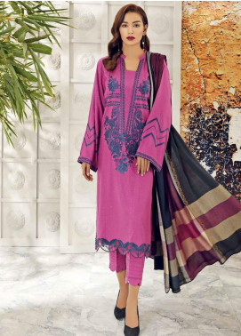 Aniq by Charizma Embroidered Marina Unstitched 3 Piece Suit CRZ20AL ANW-08 - Festive Collection