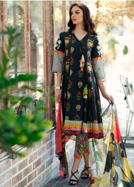 Aniq by Charizma Embroidered Lawn Unstitched 3 Piece Suit CRZ20A-002 - Spring / Summer Collection