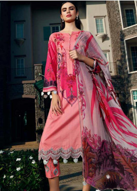 Aniq by Charizma Embroidered Lawn Unstitched 3 Piece Suit CRZ20A-003 - Spring / Summer Collection