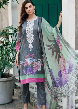 Aniq by Charizma Embroidered Lawn Unstitched 3 Piece Suit CRZ20A-004 - Spring / Summer Collection