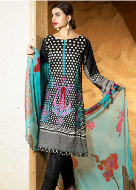 Aniq by Charizma Embroidered Lawn Unstitched 3 Piece Suit CRZ20A-005 - Spring / Summer Collection