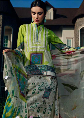 Aniq by Charizma Embroidered Lawn Unstitched 3 Piece Suit CRZ20A-006 - Spring / Summer Collection