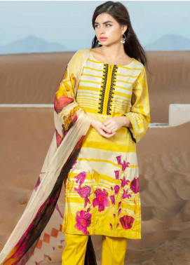 Aniq by Charizma Embroidered Lawn Unstitched 3 Piece Suit CRZ20A-007 - Spring / Summer Collection