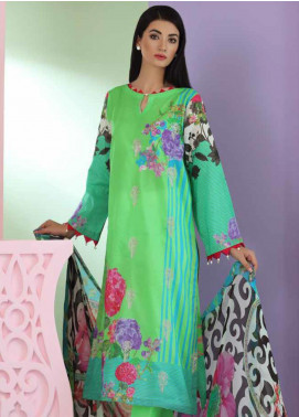 Aniq by Charizma Embroidered Lawn Unstitched 3 Piece Suit CRZ20A-009 - Spring / Summer Collection