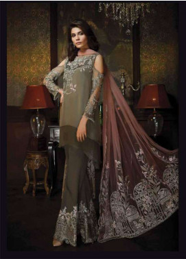Aayra Embroidered Chiffon Unstitched 3 Piece Suit AR18C 03