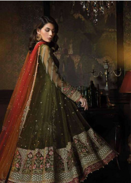 Aayra Embroidered Zari Net Unstitched 3 Piece Suit AR18C 06