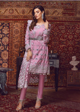 Areej By A-Meenah Embroidered Cotton Unstitched 3 Piece Suit AME19C 06 Rumaysa - Luxury Collection