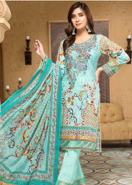 Arena by Mohagni Embroidered Lawn Unstitched 3 Piece Suit MO20A-2 SLF-04 - Spring / Summer Collection