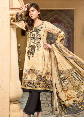 Arena by Mohagni Embroidered Lawn Unstitched 3 Piece Suit MO20A-2 SLF-09 - Spring / Summer Collection