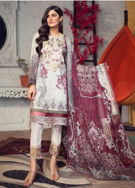 Arena by Mohagni Embroidered Lawn Unstitched 3 Piece Suit AMO19P 01 - Mid Summer Collection