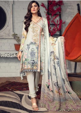 Arena by Mohagni Embroidered Lawn Unstitched 3 Piece Suit AMO19P 03 - Mid Summer Collection