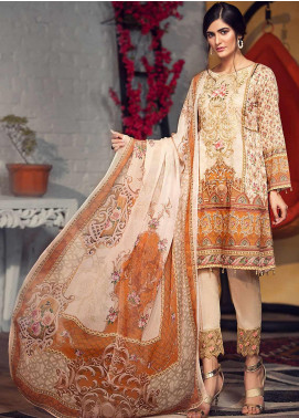 Arena by Mohagni Embroidered Lawn Unstitched 3 Piece Suit AMO19P 05 - Mid Summer Collection