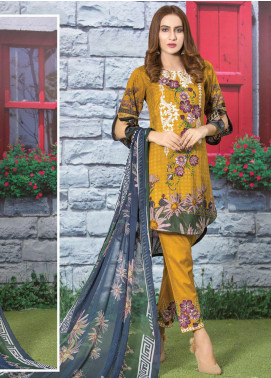 Master Fabrics Embroidered Lawn Unstitched 3 Piece Suit MF20AL MSV-405 - Summer Collection