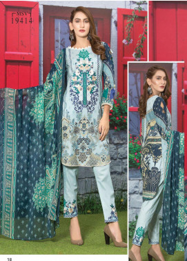 Master Fabrics Embroidered Lawn Unstitched 3 Piece Suit MF20AL MSV-414 - Summer Collection