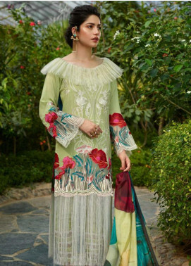 Asifa & Nabeel Embroidered Viscose Unstitched 3 Piece Suit AN19W 5G GUL - Winter Collection