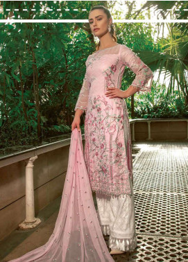 Asim Jofa Embroidered Lawn Unstitched 3 Piece Suit AJ19L 6B - Spring / Summer Collection