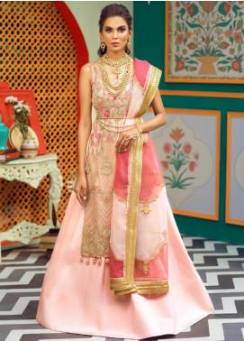 Asim Jofa Embroidered Missouri Unstitched 3 Piece Suit AJ19C 02 - Wedding Collection
