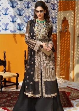 Asim Jofa Embroidered Missouri Unstitched 3 Piece Suit AJ19C 03 - Wedding Collection