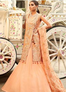 Asim Jofa Embroidered Cotton Net Unstitched 3 Piece Suit AJ19SE 3 - Festive Collection