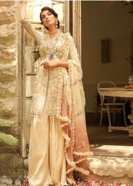 Asim Jofa Embroidered Cotton Net Unstitched 3 Piece Suit AJ19SE 5 - Festive Collection