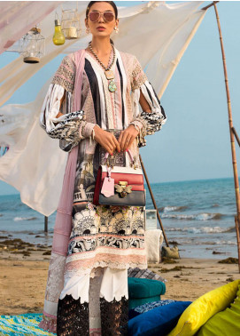Ayesha Ibrahim by ZS Embroidered Lawn Unstitched 3 Piece Suit AI19L 05 ENCHANT - Spring / Summer Collection