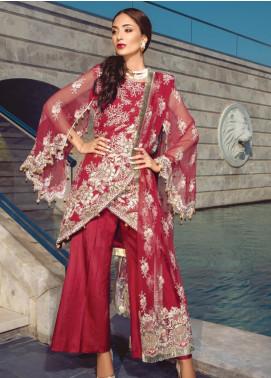 Azalea by Rang Rasiya Embroidered Chiffon Unstitched 3 Piece Suit RR19AZ 1407 - Luxury Collection