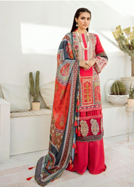 Azalea Embroidered Lawn Unstitched 3 Piece Suit AZA20L D 01 - Spring / Summer Collection