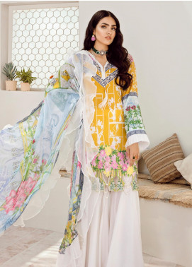 Azalea Embroidered Lawn Unstitched 3 Piece Suit AZA20L D 05 - Spring / Summer Collection
