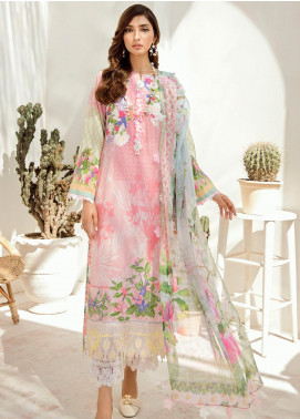 Azalea Embroidered Lawn Unstitched 3 Piece Suit AZA20L D 06 - Spring / Summer Collection