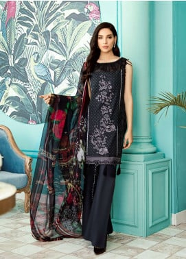 Azalea Embroidered Lawn Unstitched 3 Piece Suit AZA19EL 01 - Spring / Summer Collection