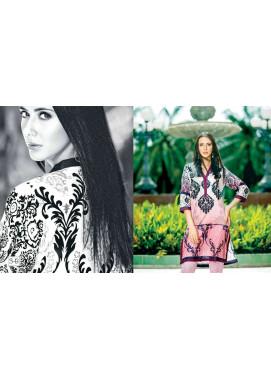 Zaneesha By Al Zohaib Embroidered Lawn Unstitched Kurtis AZN16S 3B