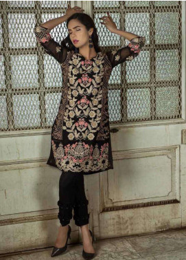 Azure Embroidered  Stitched 2 Piece Suit AZU18-C2 RUSTIC ROSES A