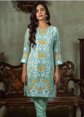 Azure Embroidered  Stitched 2 Piece Suit AZU18-C2 RUSTIC ROSES B
