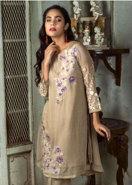 Azure Embroidered  Stitched 2 Piece Suit AZU18-C2 SHEER GRACE A