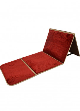 Plush Mink Mink Type  Prayer Mats Baithak BJ941 - Home & Decor
