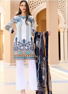 Banafsheh Embroidered Lawn Unstitched 3 Piece Suit BF20L 6 - Luxury Collection