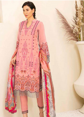 Banafsheh Embroidered Linen Unstitched 3 Piece Suit BF20W 03 - Winter Collection