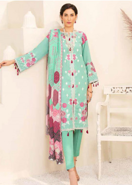 Banafsheh Embroidered Linen Unstitched 3 Piece Suit BF20W 10 - Winter Collection