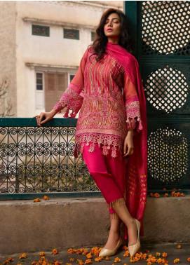 Banaras By Noor Textiles Embroidered Zari Net Unstitched 3 Piece Suit B03 - Spring / Summer Collection