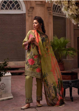 Banaras By Noor Textiles Embroidered Jacquard Unstitched 3 Piece Suit B04 - Spring / Summer Collection