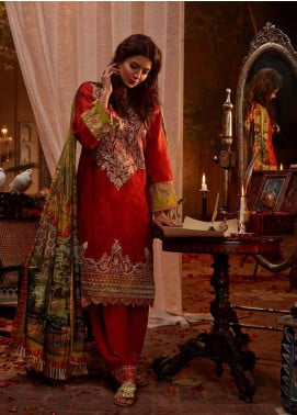 Banaras By Noor Textiles Embroidered Jacquard Unstitched 3 Piece Suit B05 - Spring / Summer Collection