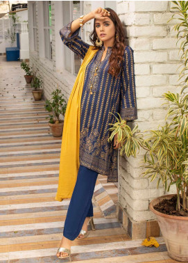 Banarsi by ZS Textiles Printed Banarsi Unstitched 3 Piece Suit BN20ZS 2 - Summer Collection