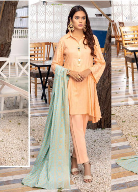 Banarsi by ZS Textiles Printed Banarsi Unstitched 3 Piece Suit BN20ZS 5 - Summer Collection