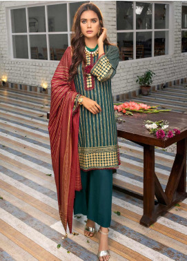 Banarsi by ZS Textiles Printed Banarsi Unstitched 3 Piece Suit BN20ZS 8 - Summer Collection