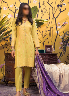 Banarsi by ZS Textiles Printed Banarsi Unstitched 3 Piece Suit ZS20-B5 ZS-01 - Spring / Summer Collection