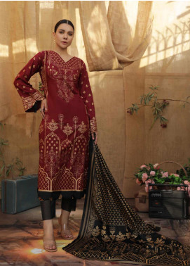 Banarsi by ZS Textiles Printed Banarsi Unstitched 3 Piece Suit ZS20-B5 ZS-07 - Spring / Summer Collection