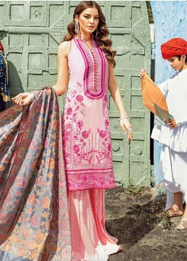 Bandhani by Al Zohaib Embroidered Lawn Unstitched 3 Piece Suit AZ20B 5 - Spring / Summer Collection