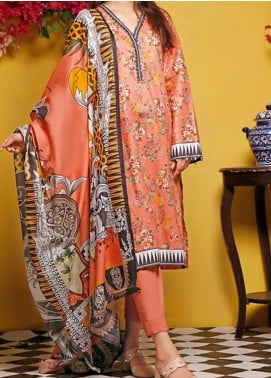 Baraan by Gul Ahmed Printed Lawn Unstitched 3 Piece Suit BGA20MS CL-992 - Summer Collection