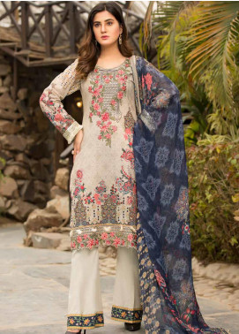 Barkha by Shamira Embroidered Lawn Unstitched 3 Piece Suit SHR20B 01 - Spring / Summer Collection