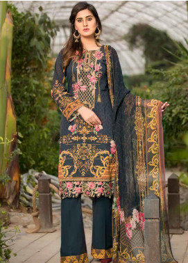 Barkha by Shamira Embroidered Lawn Unstitched 3 Piece Suit SHR20B 02 - Spring / Summer Collection